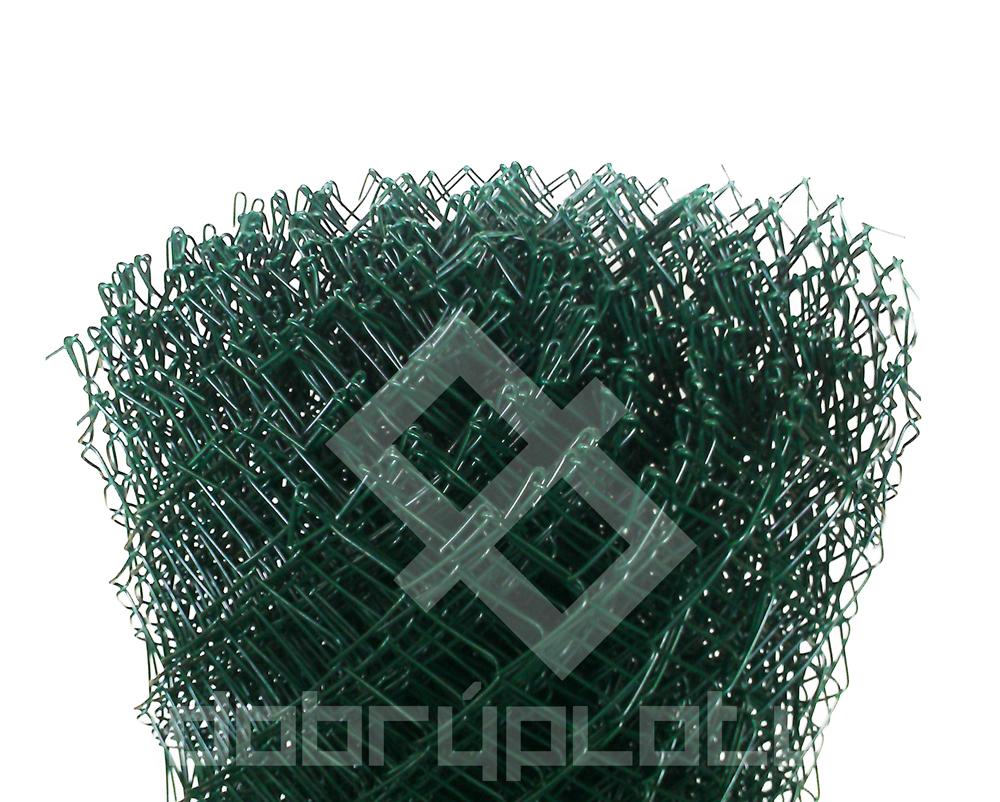 Poplastované pletivo PVC výška 125 cm , drát 2,5 mm, oko 50x50 mm, bez ND