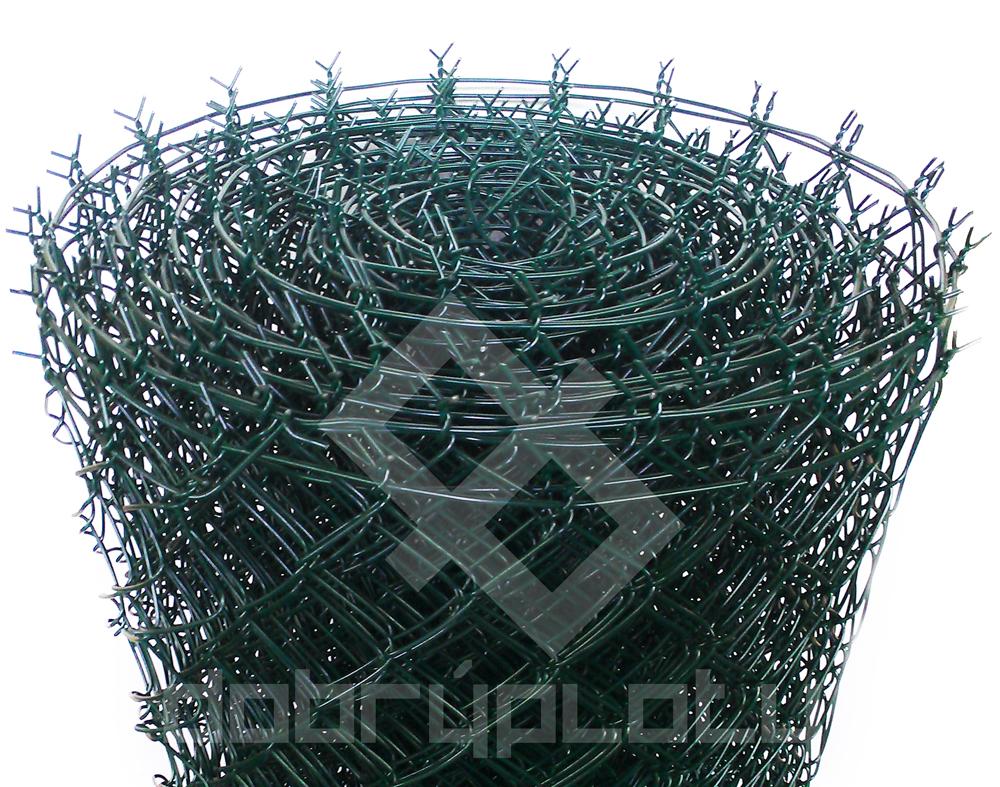 Pletivo poplastované PVC 100 cm výška, 50x50 mm, 2,5 mm s ND zelené