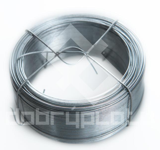 Vázací drát Zn 0,80 mm, 100 m v balení