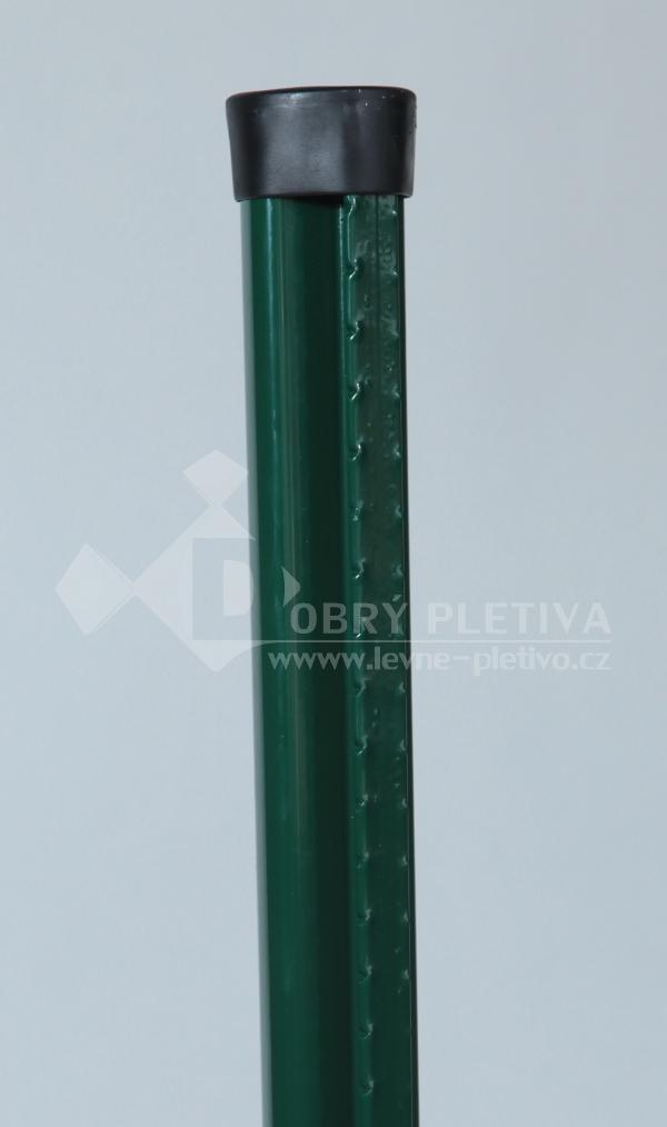 Sloupek Aquigraf s prolisem pro svařovaná pletiva výška 220 cm